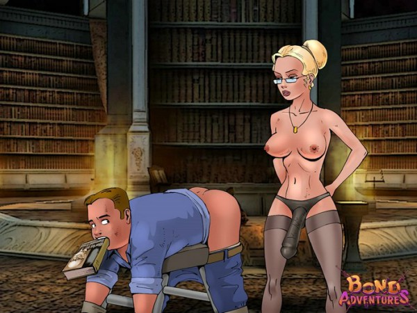 cartoon bdsm