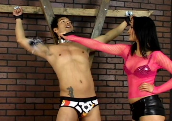 Femdom Take Down her Slave